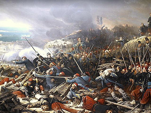 TRUE or FALSE: Britain and France were allies in the Crimean War.