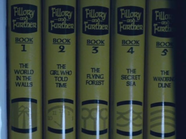 Who was the author of the Fillory novels?