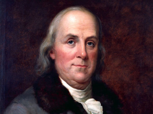 a biography of benjamin franklin a president of the united states