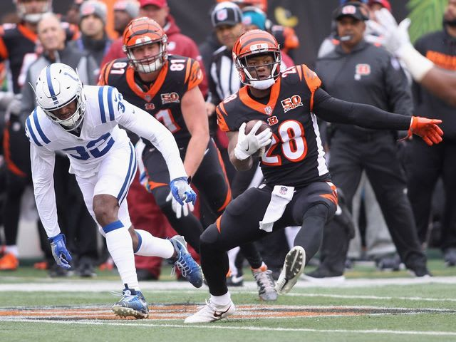 The Bengals are averaging a lowly 3.1 yards per carry.