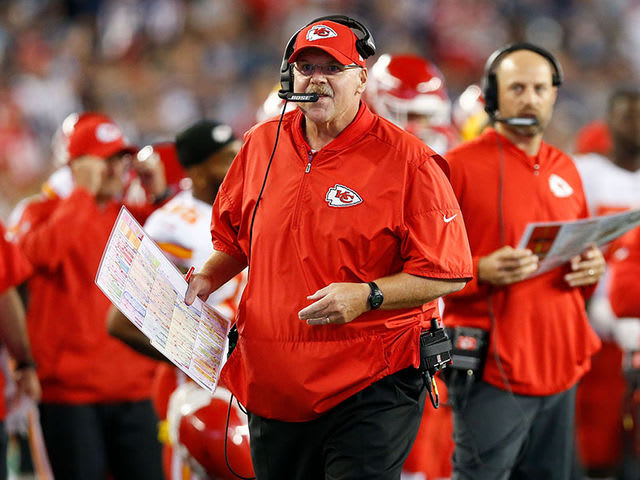 Andy Reid is a wizard after the bye.
