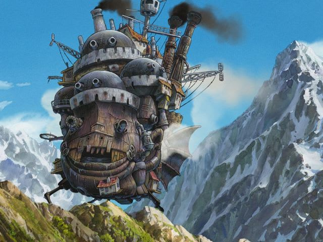 Answer: Howl's Moving Castle!
