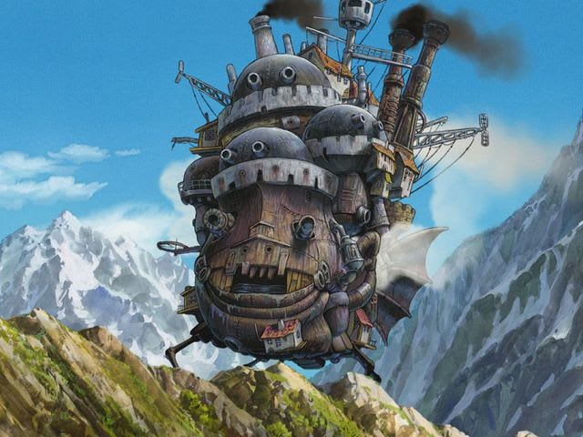 Howl's Moving Castle!