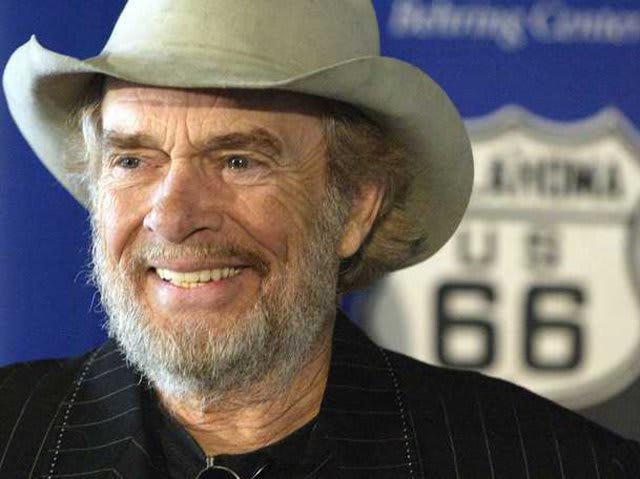 What inspired Merle Haggard today in 1958 to take a stab at a music career after he was released from prison?