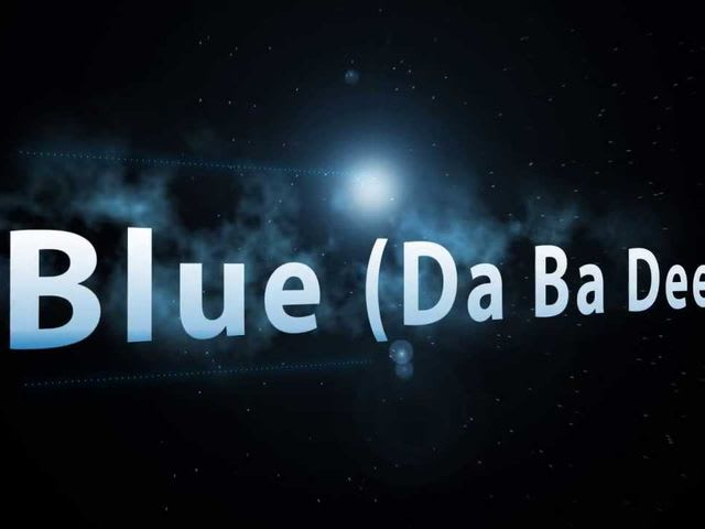 "Everyone remembers the song ""Blue (Da Ba Dee)"" which famously goes, ""da ba dee da ba da"" over and over again, but do you remember who sang it?"