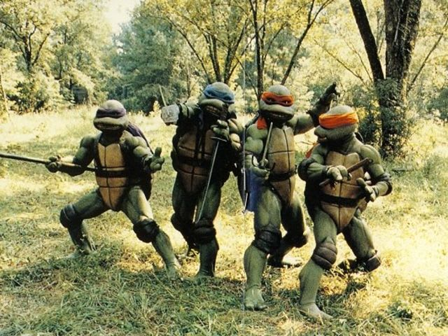 After the Foot Clan nearly kills Raph, the Turtles go to hide at _____ old farm house.