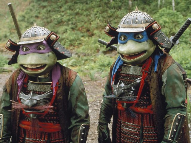 In the 3rd movie: The Turtles go back to what year in feudal Japan?