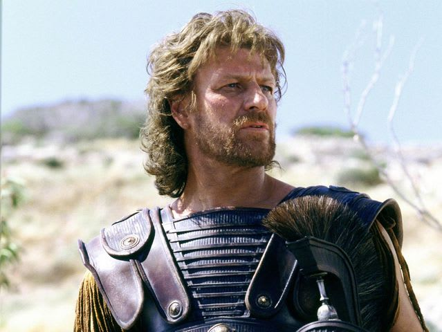 odysseus character comparison movie troy