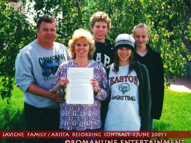 What are the names of Avril's parents?