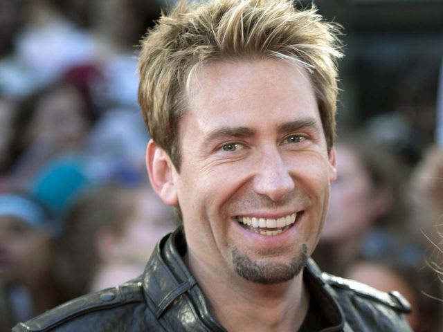 Her second husband Chad Kroeger is the singer of which band?