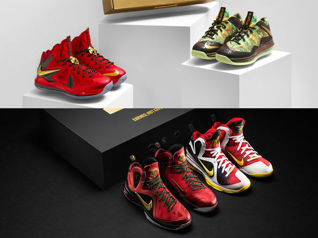 The only multi-shoe LeBron packs that have released were the 9 and 10 Championship packs.