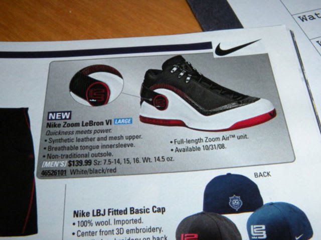 Due to a late change in creative direction, the Zoom Power never released as the Zoom LeBron 6, as it was designed.