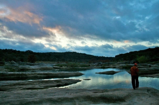 A little west of Austin, Pedernales Falls State Park  has mind-blowingly beautiful scenery for you to immerse yourself in. We recommend the 7-mile roundtrip Wolf Mountain Trail if you're up for the mileage. The trail takes you over the limestone quarries where the Pedernales River and Pedernales Falls run, which makes the area perfect for fishing and swimming. Nearby there's mountain biking and tubing in the river. Expert hikers note that the area's prone to flash floods, so make sure you check the weather before heading out.