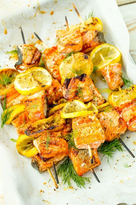 These take less than 30 minutes to make and you end up with such juicy, flaky and flavorful salmon... you'll want seconds!