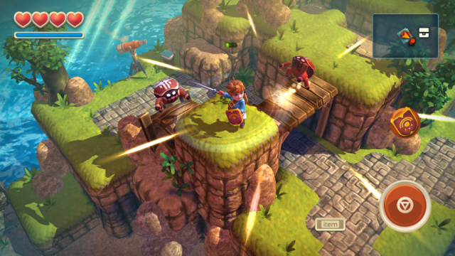 (Free 1st Chapter - $5.49 full game)Oceanhorn doesn't hide its very Zelda inspired influence, and that's fine by us. This game might be the most expensive on this list, but it's one of the best adventures you can take part in on a mobile device. In fact, it's good enough to be on a normal console! Oceanhorn combines captivating storytelling, breathtaking 3D visuals on a mobile device and some pretty exciting gameplay into one massive action adventure experience you will never forget.
