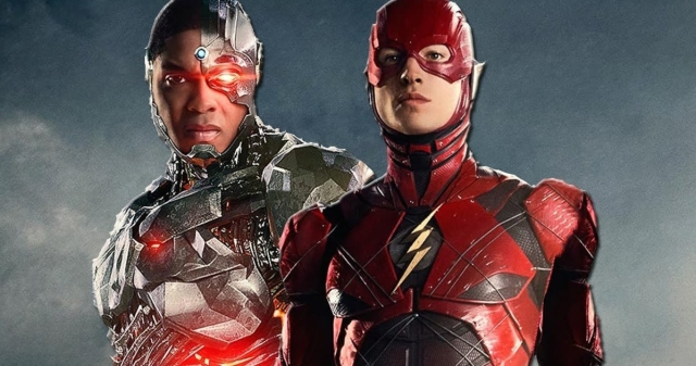 Fisher as Cyborg and Miller as Flash, two excellent newcomers to the DCEU.