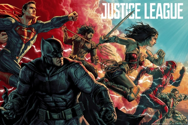 MONDO's incredible poster for Justice League