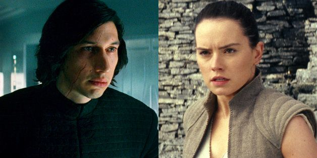 Adam Driver and Daisy Ridley carry the next generation forward as Kylo Ren and Rey.