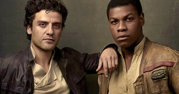The dashing duo of Oscar Issac and John Boyega as Poe and Finn, respectively.