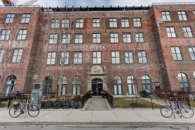 Originally a candy factory, these have all of the cool you'd expect from a converted loft, plus a killer Roncesvalles location.