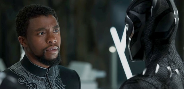 Boseman as the King himself, T'Challa: The Black Panther.
