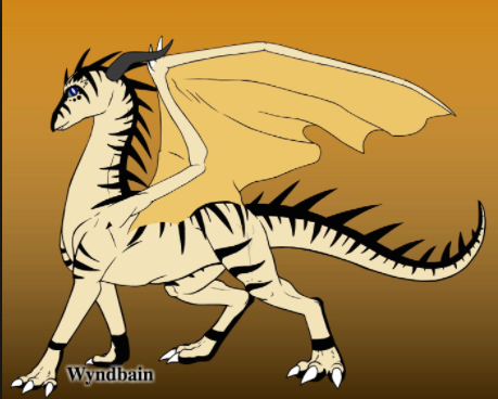 Description: Gray, white and yellow scales. White eyes. Brown claws. Abilities: Their scales shine as bright as brightest night when touching steel. Their teeth are unbreakable. They are made of hard iron. They breath hard iron. Queen: Queen Medal Alliances: They are currently allied with Change