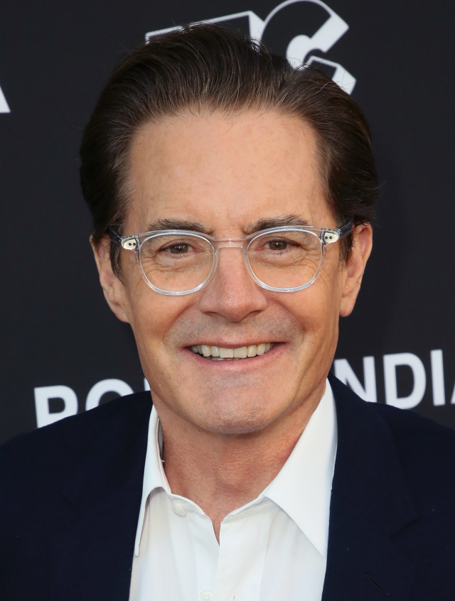 "David Lynch's surreal show Twin Peaks originally aired between 1990 and 1991. The reboot Twin Peaks: The Return, described as a mystery horror drama, returned in 2017.  The show's star Kyle Maclachlan, pictured, assured fans the show's confusing plot will  ""all make sense in the end"" ."