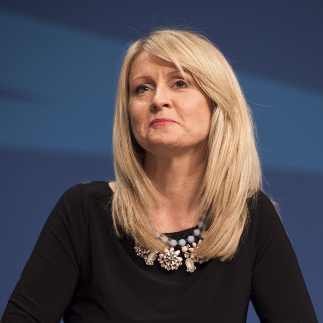 Esther McVey resigns as Work and Pensions Secretary claiming Theresa May's draft Brexit plan threatens the integrity of the United Kingdom.