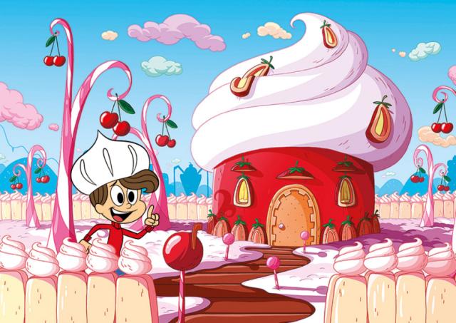 Tem 10 anos, é muito tímido e apaixonado pela Pipoca. Vive tentando se declarar. Adora fazer guerra de tortas e esquiar nas montanhas de sorvete de creme do Reino.