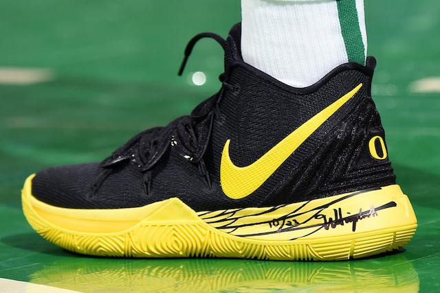 "online retailer 7ef3b 2d32e Nike Kyrie 5 ""Oregon"""