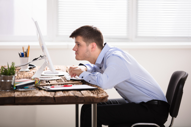 Your posture plays a pretty big part in how you handle stress. It determines how well you're breathing, your self confidence and it can even affect decision making! A quick fix for anxiety is to just, sit up straight!