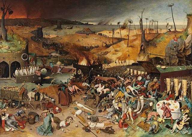 El triunfo de la muerte, por Pieter Bruegel (El Viejo)