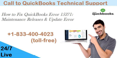 QuickBooks Support help +1-833-400-4023 for QuickBooks Error 15271