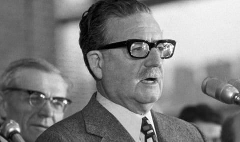 Salvador Allende, presidente de Chile (1970-1973)