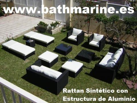Muebles De Exterior Teka Rattan Sintetico Tumbonas Hamacas