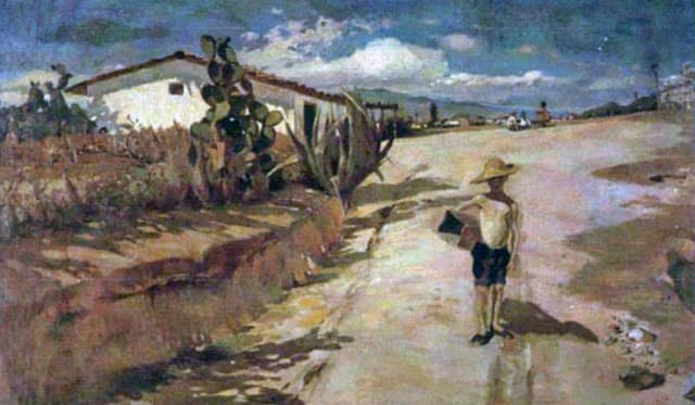 Obra que para Manuel Cabré le valiera su primera distinción académica en 1908.