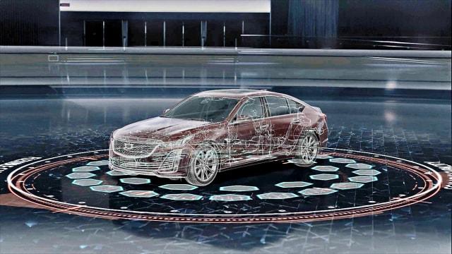 La nueva plataforma digital de General Motors contempla robustas capacidades de procesamiento de datos y actualizaciones 'over the air'.