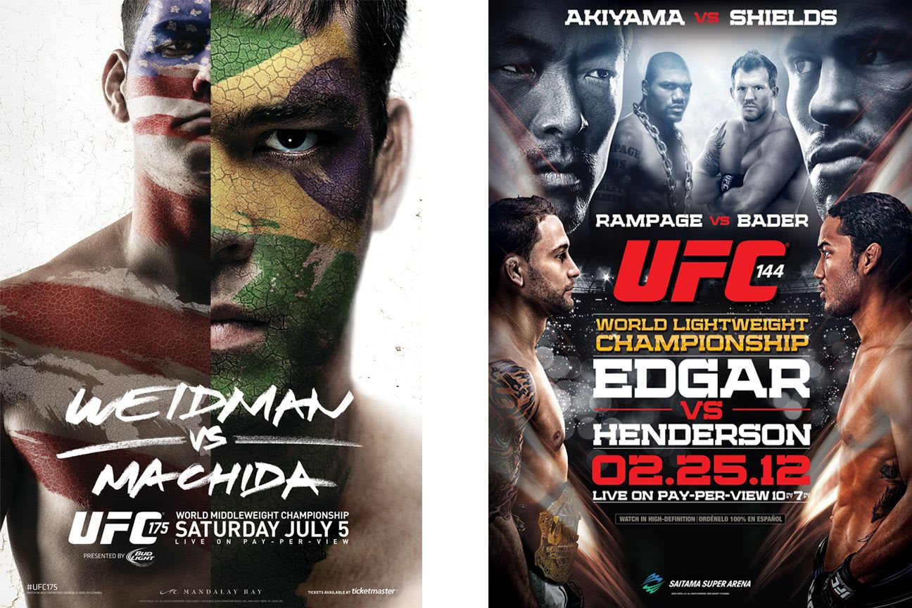 Mma Bracket Vote For The Best Ufc Fight Poster Of All Time