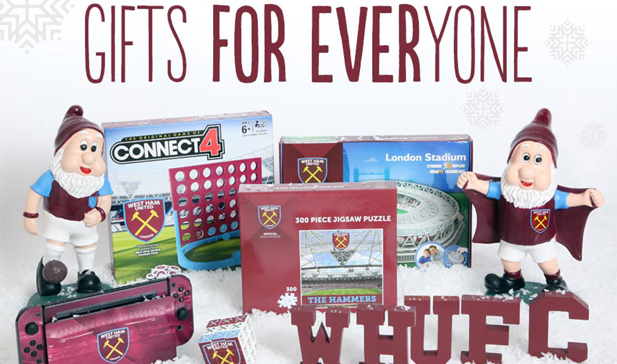 West Ham United FC Supersoft Christmas Stocking Football Club Player PRESENT