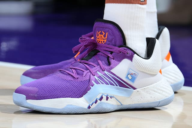 Which player had the best sneakers in