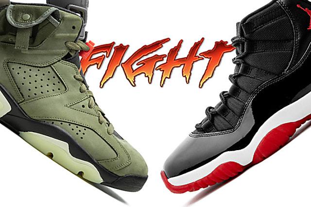 Travis Scott Air Jordan 6 vs Air Jordan