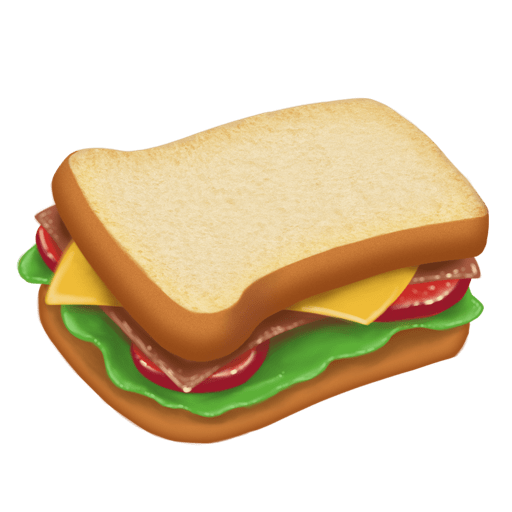 Seriously, how did it take this long to get a sandwich emoji...