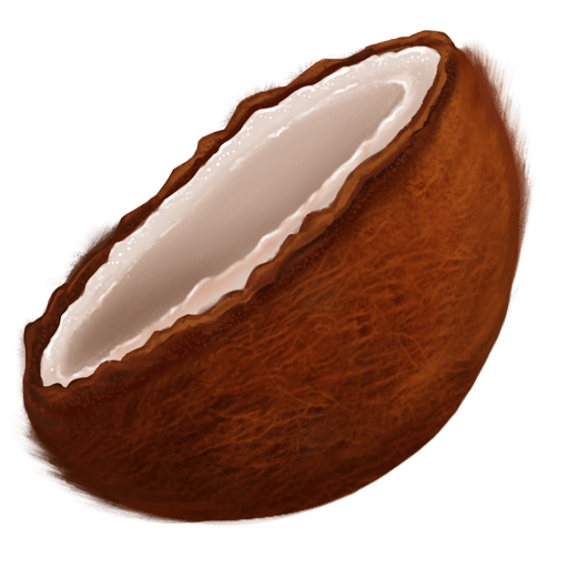 Consider the coconut...