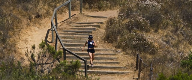 Tourists may think San Diego is just one giant beach, but locals know that the city has one of the highest park-land-per-capita rates in the U.S. This creates dozens of options for escaping the city and retreating to nature, without having to travel out of town. Locals recommend Balboa Park's Trail #5, which is a a 6.6-mile loop. The trail passes through Palm Canyon, a beautiful green oasis created by an underground stream.
