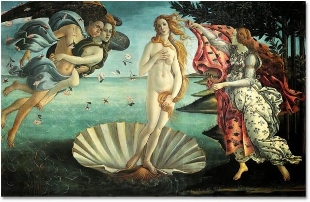 Según Platón, el amor no tiene nada que ver con la atracción sexual o física. Es una conexión indescriptible entre dos seres y la principal motivación tiene que ser la admiración.   En la foto: El Nacimiento de Venus - Sandro Botticelli 1484, una de las obras más famosas del mundo, conocida por la sensualidad y la belleza de Venus.