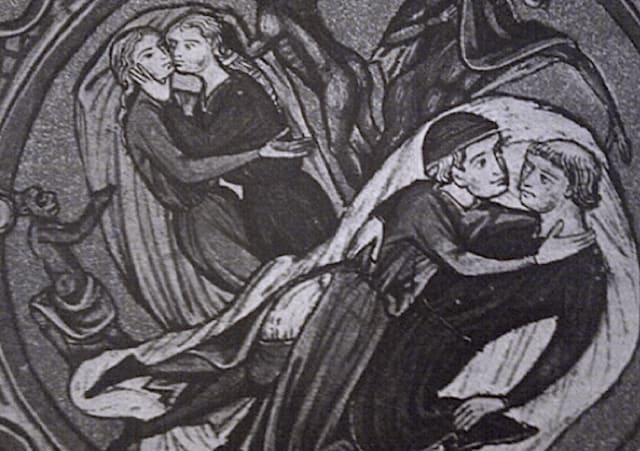 La unión no se basaba en una atracción física, era meramente una decisión personal llena de admiración y amor verdadero y profundo. Los historiadores aseguran que no tenía nada que ver con amor carnal.