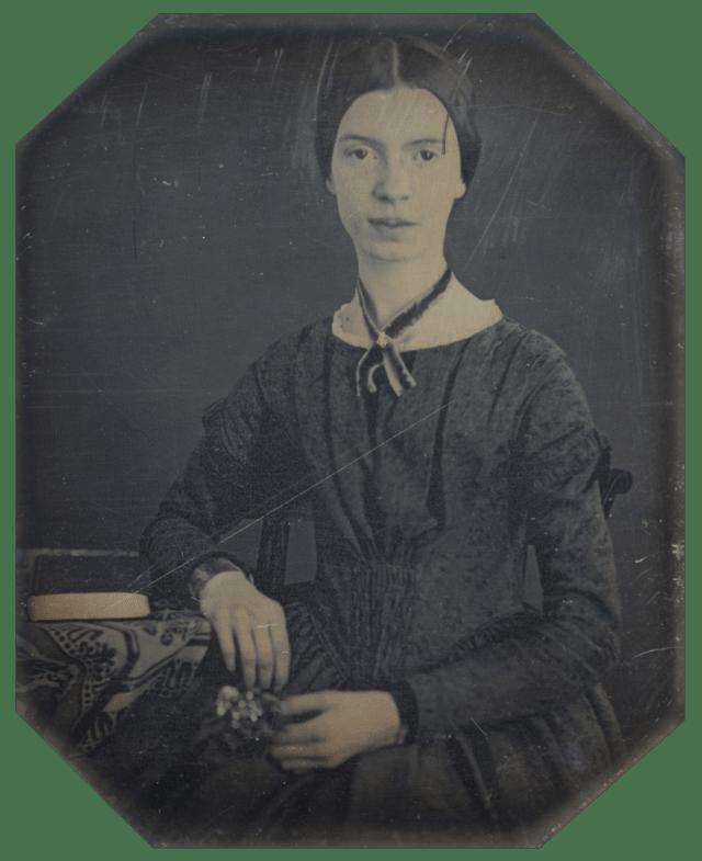 Emily Dickinson (1830-1886) fue una escritora americana que influyó enormemente en el desarrollo de la poesía estadounidense. Es considerada como una de las figuras más importantes de la literatura. Su vida está llena de misterios que aun no han podido ser descifrados.