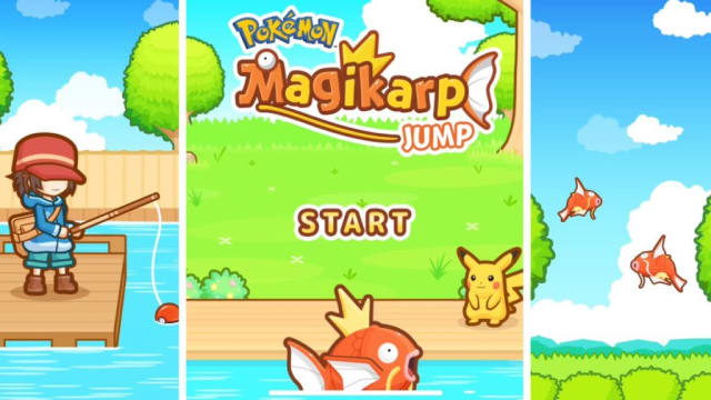 """(Free w/In–app purchases)Nothing about Magikarp Jump makes any sense on paper, especially as the followup to the massive game Pokemon Go. That said, the game just works because of how simple and charming it is. This """"clicker"""" style game has you tapping the screen as fast as you can to get stuff done. Nothing about the process should be so captivating, but the atheistic and charm the game oozes is hard to resist."""