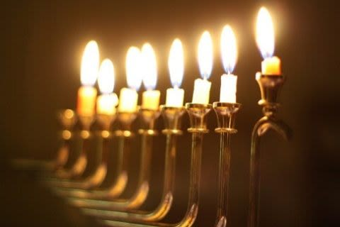 Stroll Around The Old City For Some Holiday Lights, Jewish Style. Hanukkah  Begins December