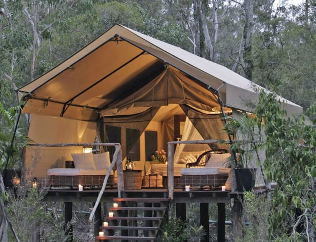 Camping for grownups!